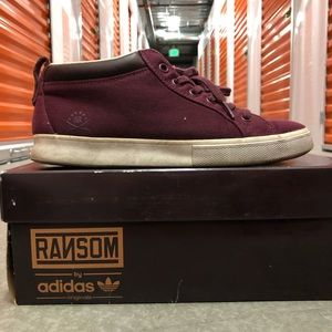 Adidas Ransom Maroon Valley Low sz. 8